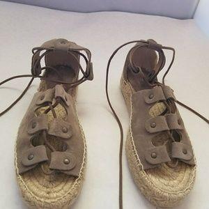 6f6710a7d30b Soludos Shoes - Soludos Ghillie Platform Sandal dove gray 7M